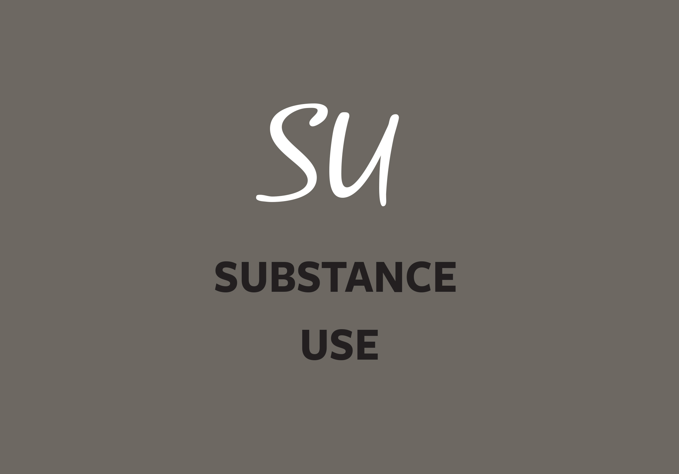 Link to Substance Use page