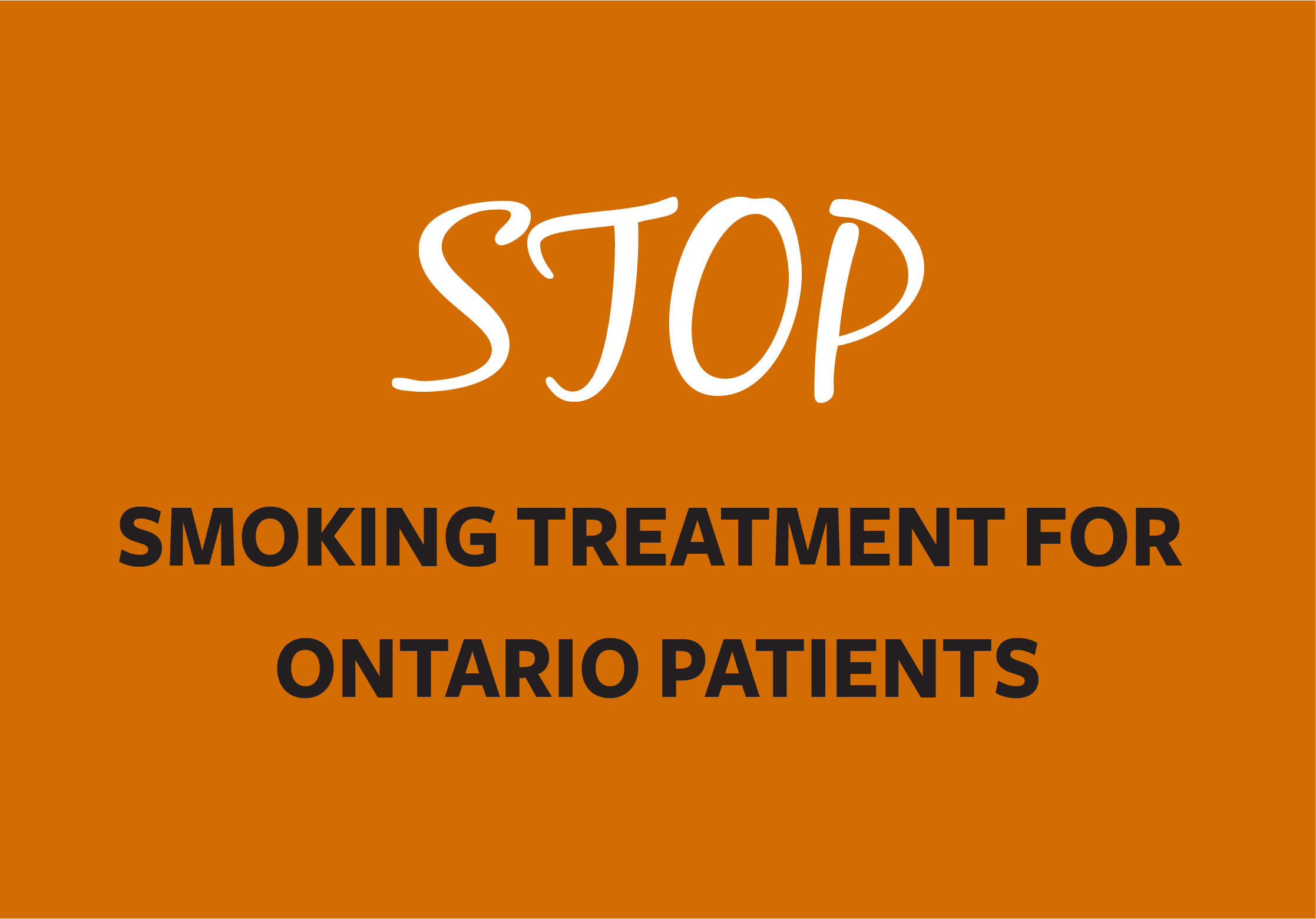 Link to Smoking Treatment for Ontario Patients program page