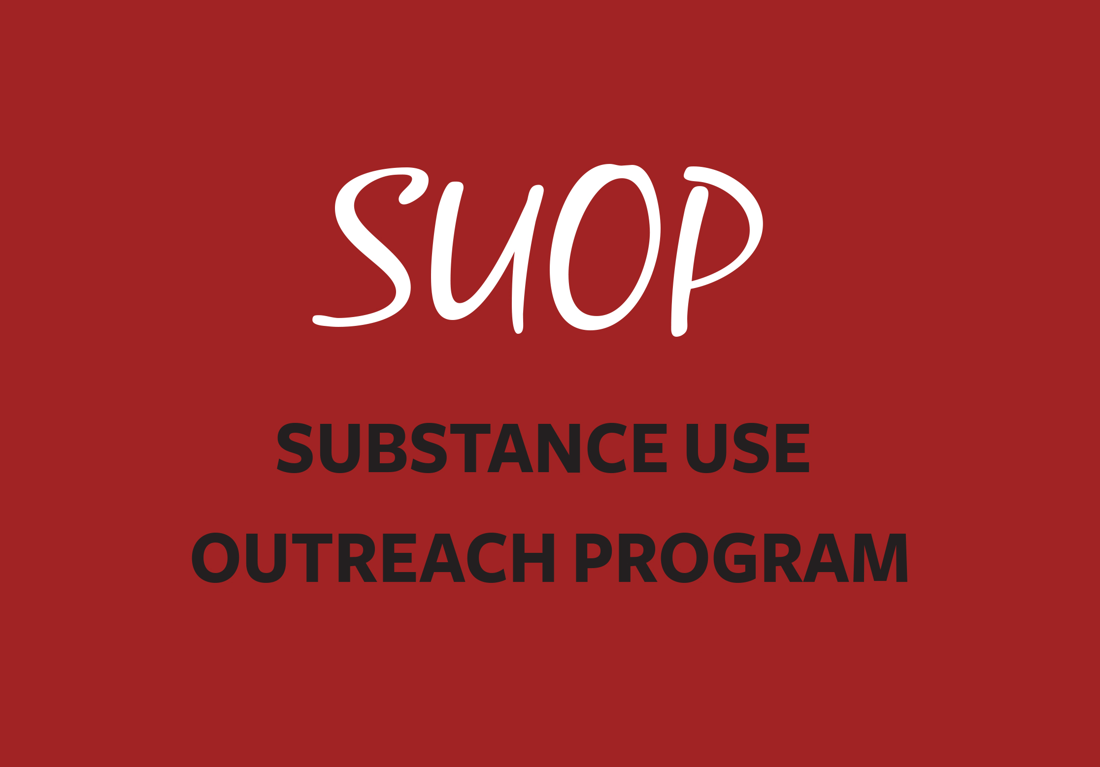 Link to Substance Use Outreach Program page