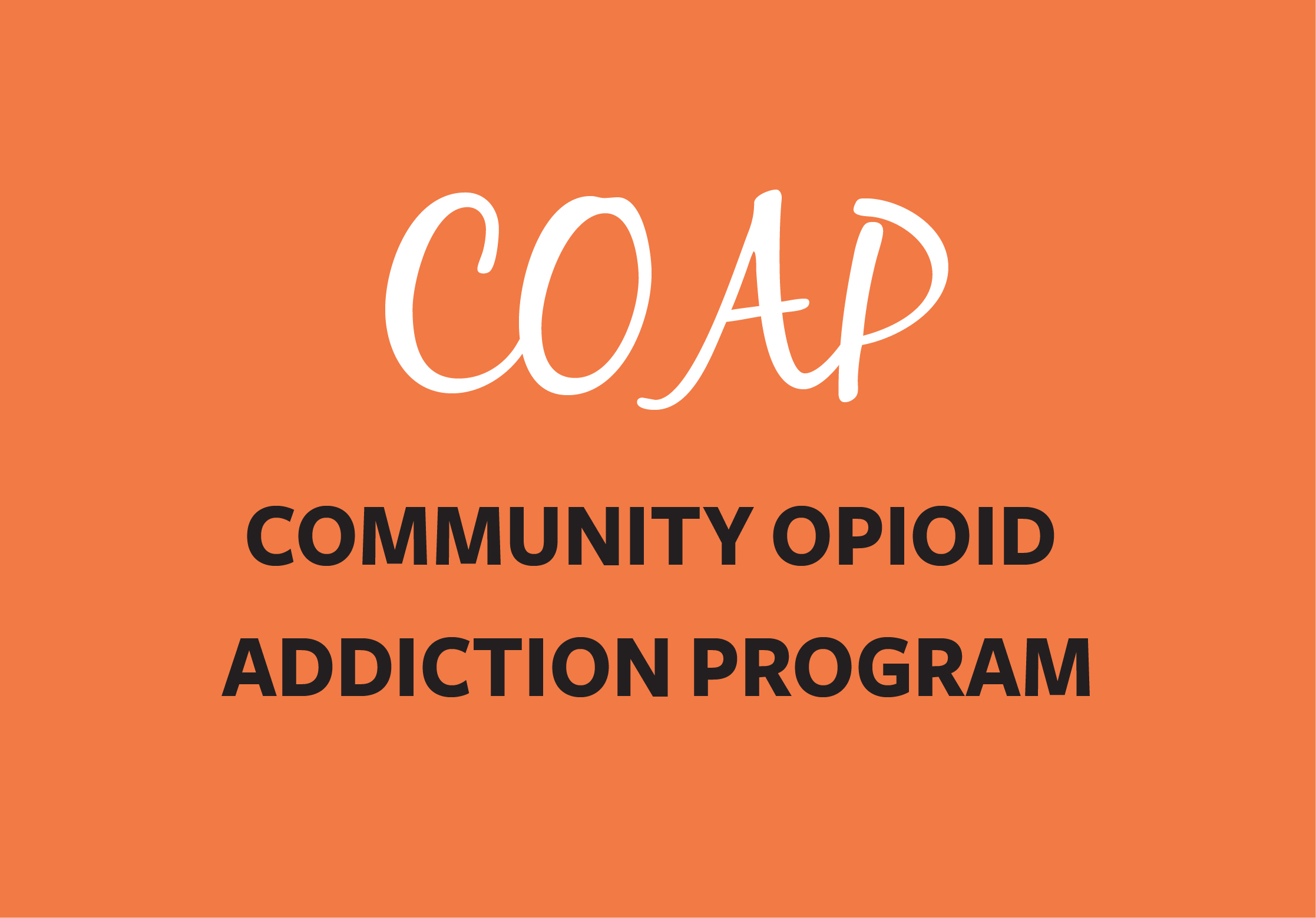 Link to Community Opioid Addiction Program page