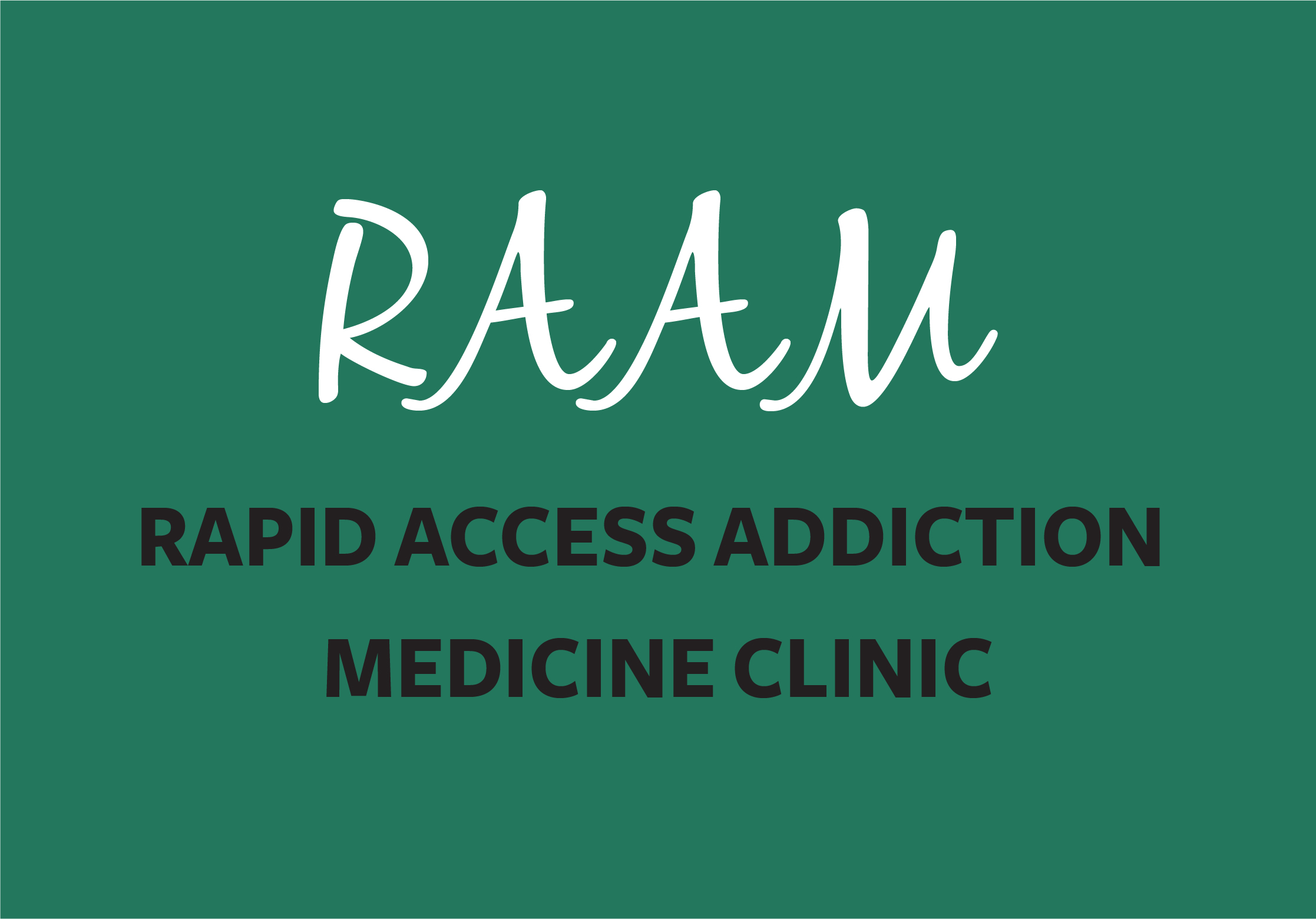 Link to the Rapid Access Addiction Medicine Clinic program page
